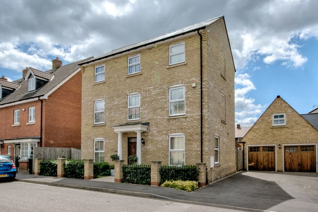 Thumbnail Detached house for sale in Reeve Road, Forest Hall Park, Stansted