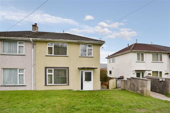 Thumbnail Semi-detached house for sale in Bronhaul, Aberdare, Rhondda Cynon Taff