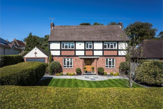 Thumbnail Detached house for sale in Fairway Road, Canford Cliffs, Poole