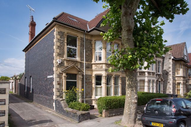 Thumbnail Terraced house for sale in Coldharbour Road, Westbury Park, Bristol