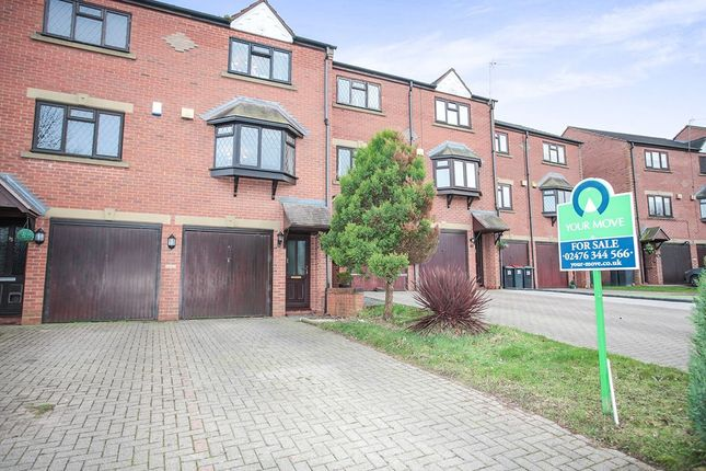 Thumbnail Terraced house to rent in Woodland Way, Birchmoor, Tamworth