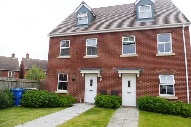 Thumbnail Semi-detached house to rent in Rowan Close, Desborough, Kettering