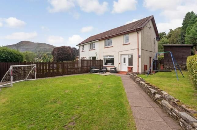 Thumbnail Semi-detached house for sale in Main Road, Aberfoyle, Stirling, Stirlingshire