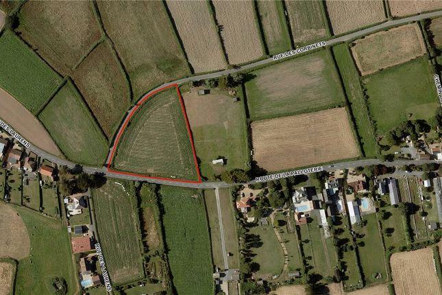 Aerial View of Land Parcel - La Rocquette, La Palloterie Road, St Peter GY7
