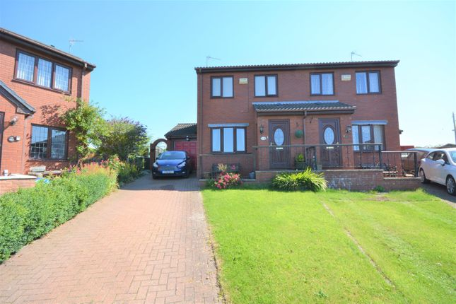 Thumbnail Semi-detached house for sale in Brockwell Court, Coundon Grange, Bishop Auckland