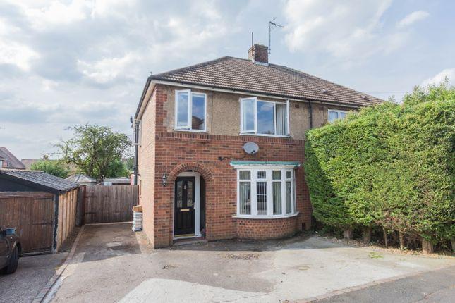 Thumbnail Semi-detached house for sale in Hayden Avenue, Finedon, Wellingborough