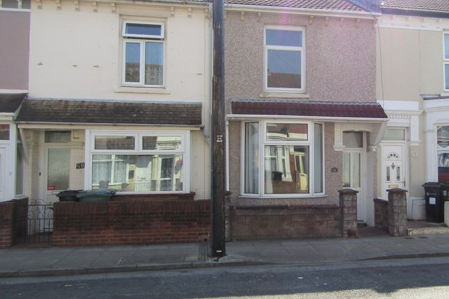 Thumbnail Terraced house to rent in Paulsgrove Road, Portsmouth, Hampshire