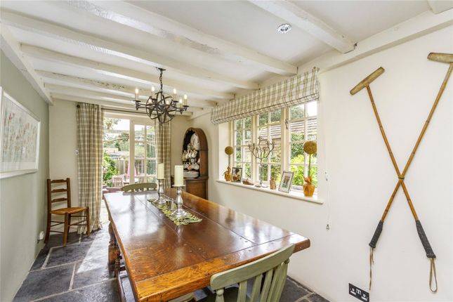 Dining Room of Gravel Hill, Henley-On-Thames, Oxfordshire RG9