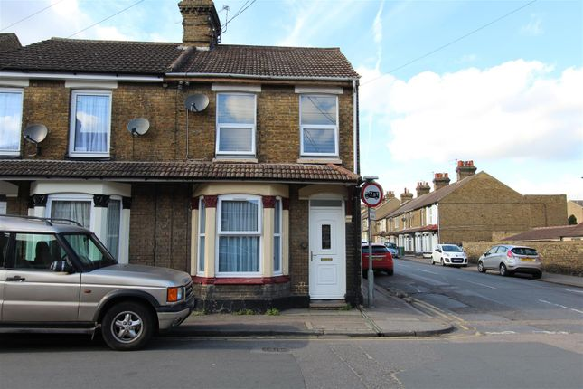 Thumbnail End terrace house to rent in Chalkwell Road, Sittingbourne
