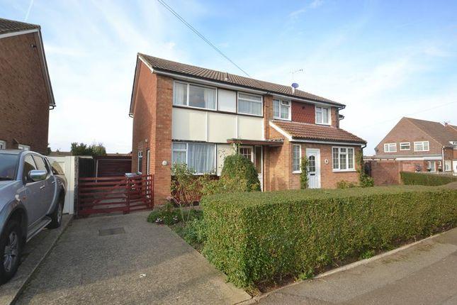 Thumbnail Semi-detached house for sale in Bradfield Avenue, Teynham, Sittingbourne