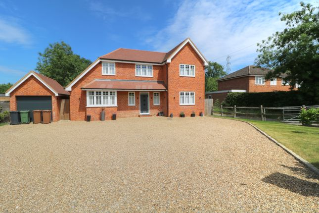 Thumbnail Detached house for sale in Send Marsh Road, Ripley, Woking