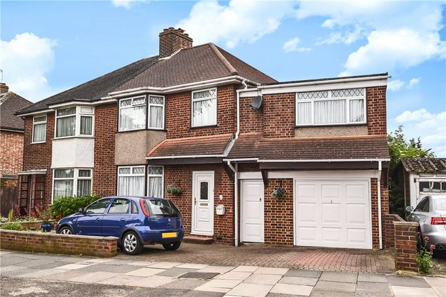 Thumbnail Semi-detached house for sale in Dorchester Road, Northolt, Middlesex