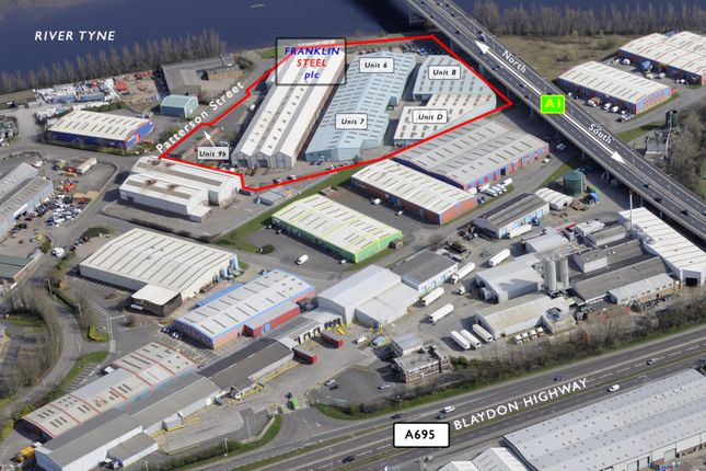 Thumbnail Industrial to let in Unit 6 Franklin Industrial Estate, Patterson Street, Blaydon On Tyne