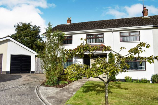 Thumbnail 4 bed semi-detached house for sale in Fortwilliam Gardens, Belfast