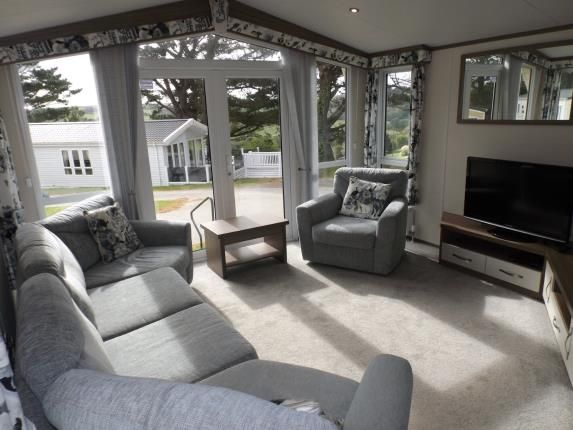 Lounge of Newquay Holiday Park, Newquay, Cornwall TR8