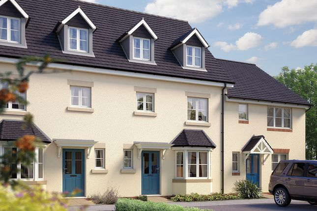"""Thumbnail Town house for sale in """"The Wimborne"""" at Sentrys Orchard, Exminster, Exeter"""