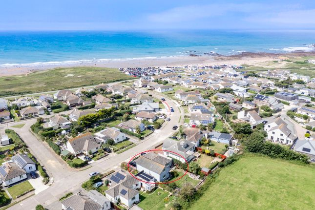Thumbnail Detached house for sale in The Crescent, Widemouth Bay, Bude