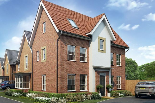 "Thumbnail Detached house for sale in ""Hexham"" at Park Hall Road, Mansfield Woodhouse, Mansfield"
