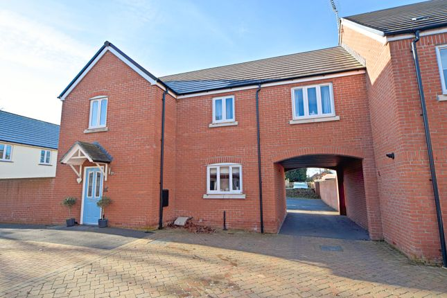 Thumbnail Link-detached house for sale in Olympian Way, Culllompton