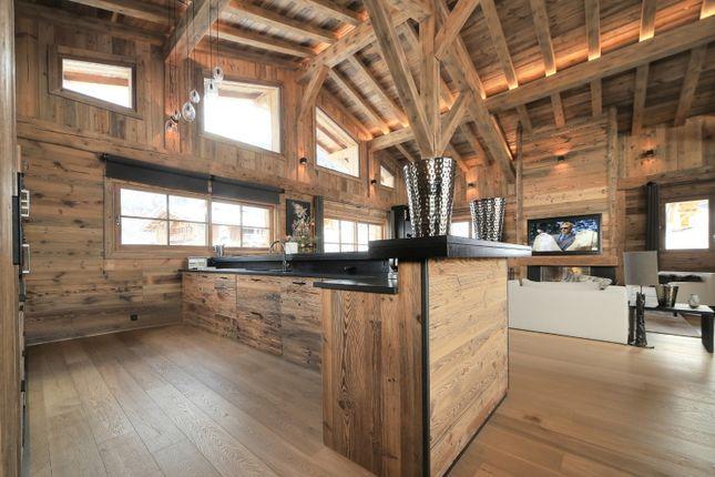 Kitchen Area of Megeve, Rhones Alps, France