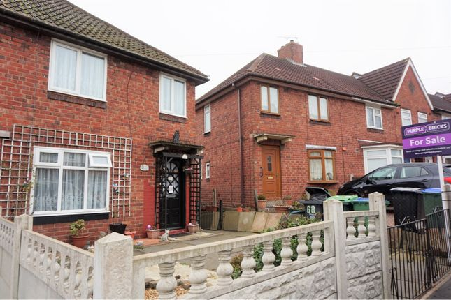 Thumbnail End terrace house for sale in Unketts Road, Smethwick