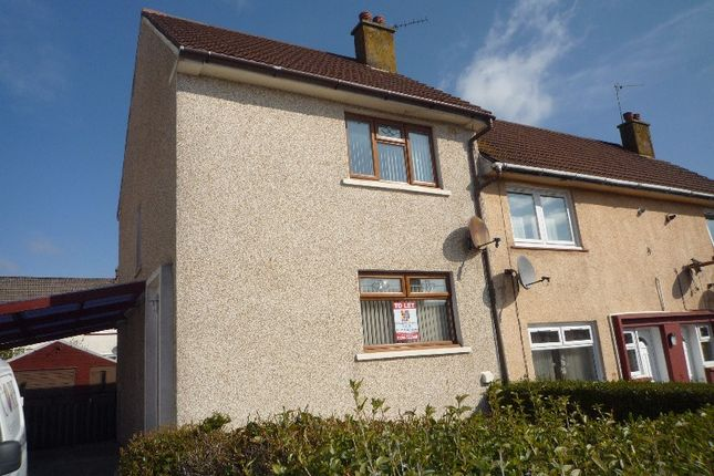 Thumbnail Semi-detached house to rent in St Margarets Avenue, Dalry, North Ayrshire
