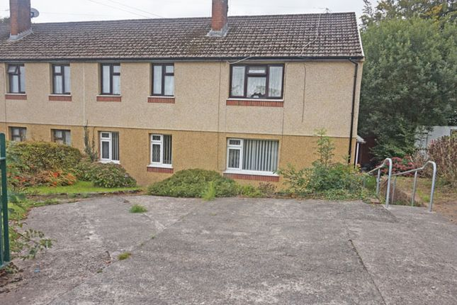 Thumbnail Flat for sale in Heol Cattwg, Gelligaer