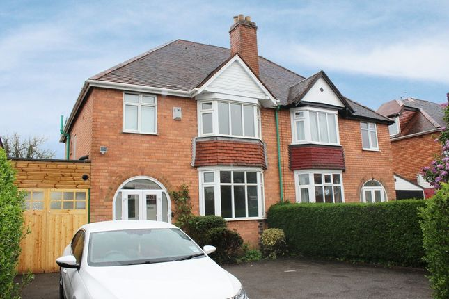 Thumbnail Semi-detached house to rent in Longmore Road, Shirley, Solihull