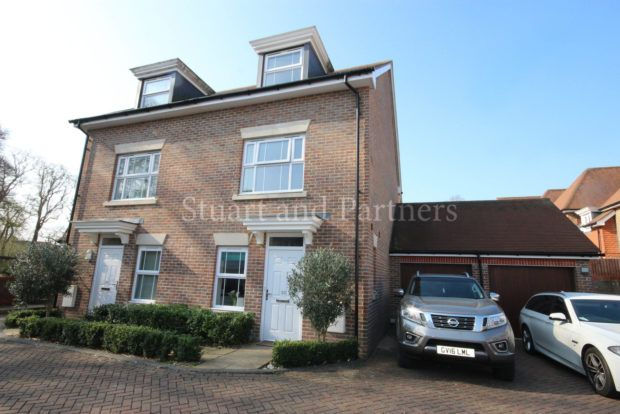 Thumbnail Semi-detached house to rent in Renfields, Bolnore Village