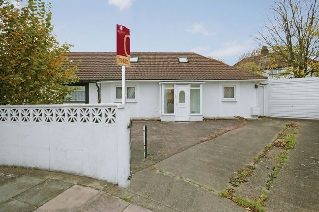 Thumbnail Semi-detached bungalow to rent in Lowfield Road, London
