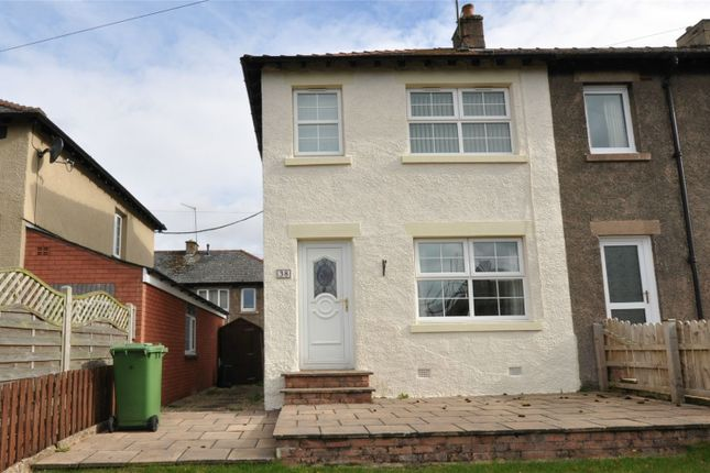 Thumbnail End terrace house for sale in 38 The Crescent, Kirkby Stephen, Cumbria