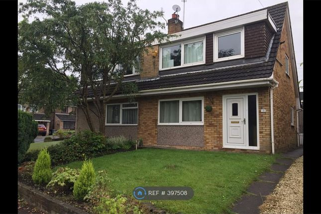 Thumbnail Semi-detached house to rent in Chelford Close, Altrincham