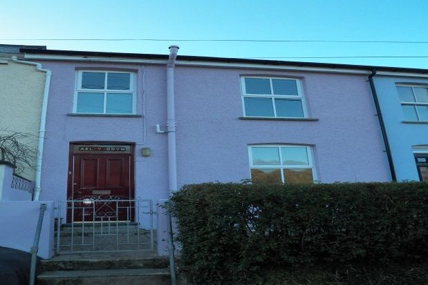 Thumbnail Terraced house to rent in Llanychaer, Fishguard