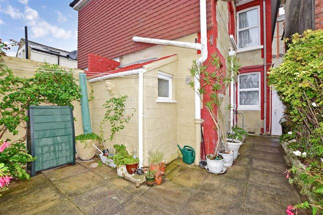 Rear Garden of St. Catherine Street, Ventnor, Isle Of Wight PO38