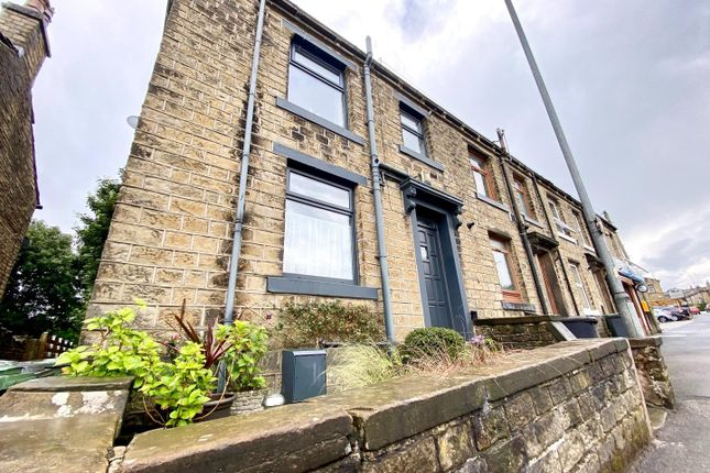 1 bed end terrace house for sale in New Hey Road, Salendine Nook, Huddersfield HD3