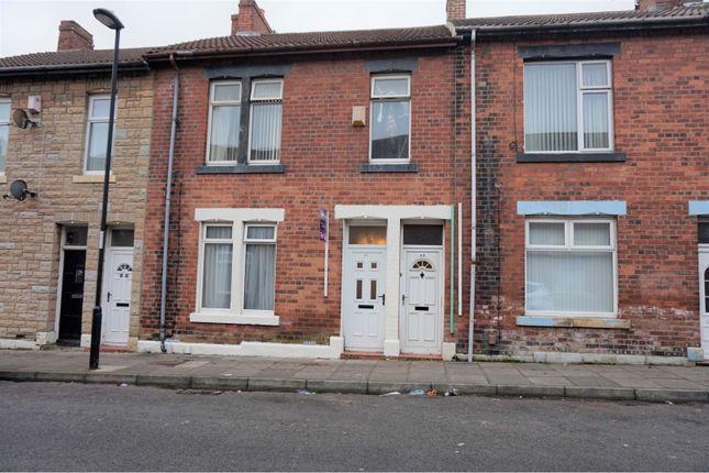 Front View of Elsdon Terrace, North Shields NE29