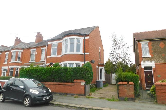 Thumbnail Semi-detached house for sale in Stewart Street, Crewe, Cheshire