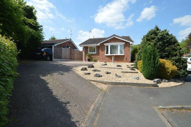 Thumbnail Bungalow for sale in Kingscote Close, Church Hill North, Redditch