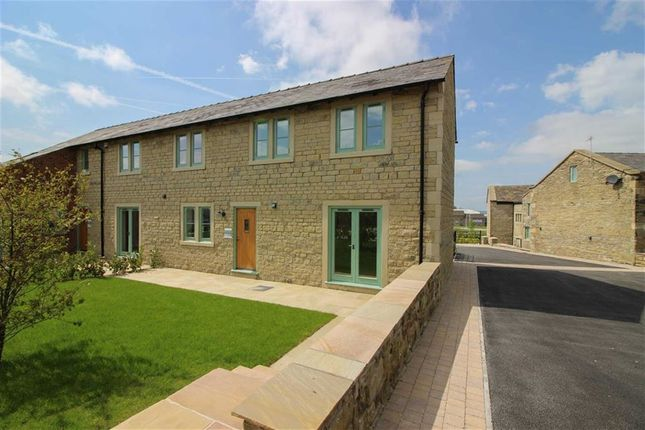Thumbnail Semi-detached house for sale in Birchinley Manor, Milnrow, Rochdale