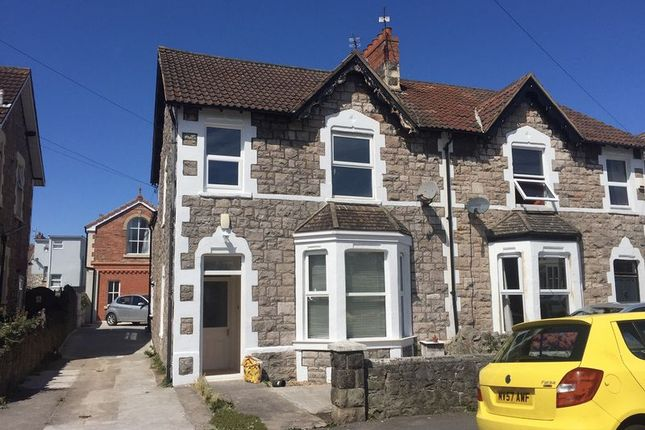 Thumbnail Semi-detached house to rent in Swiss Road, Weston-Super-Mare