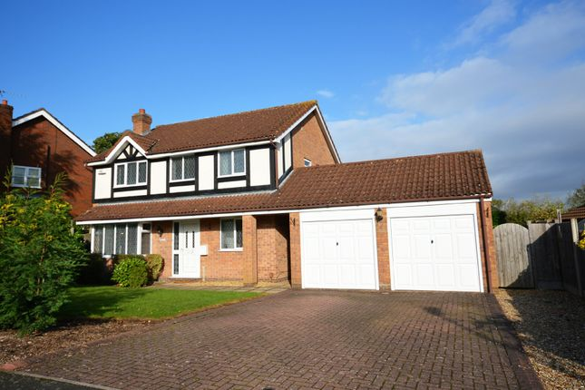 Thumbnail Detached house for sale in Whitford Drive, Shirley, Solihull
