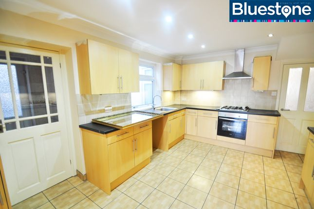 Thumbnail Terraced house to rent in Victoria Avenue, Beechwood, Newport