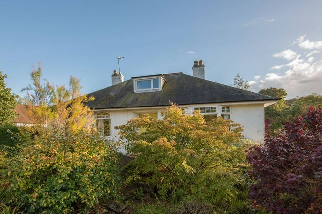 Thumbnail Detached bungalow for sale in Law Road, North Berwick