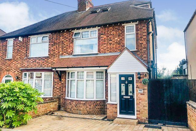 Semi-detached house for sale in Rushton Road, Desborough, Kettering