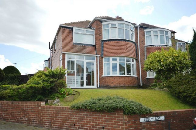 Thumbnail Semi-detached house for sale in Ludlow Road, Sunderland, Tyne And Wear