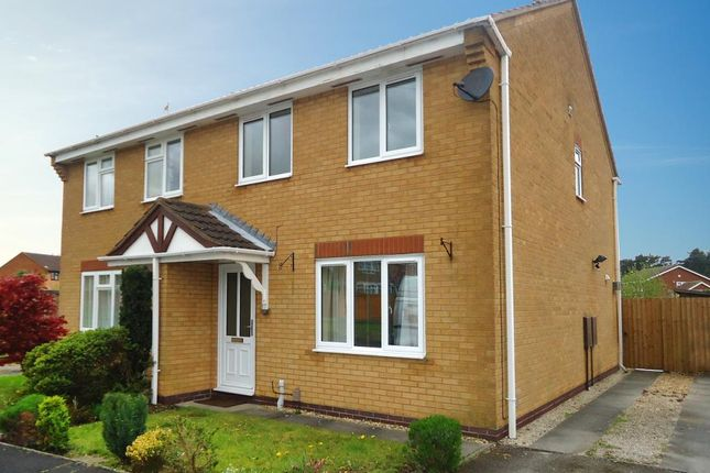 Thumbnail Semi-detached house to rent in The Belfry, Grantham