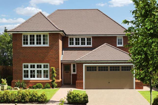 Thumbnail Detached house for sale in Pennine Grange, Pennine Way, Tamworth, Staffordshire