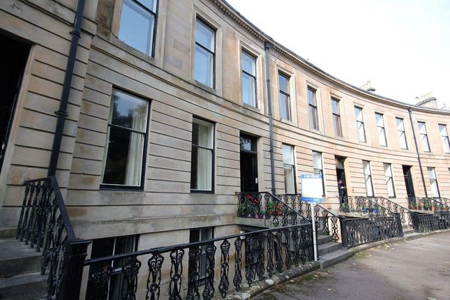 Thumbnail Flat for sale in Belmont Crescent, Glasgow