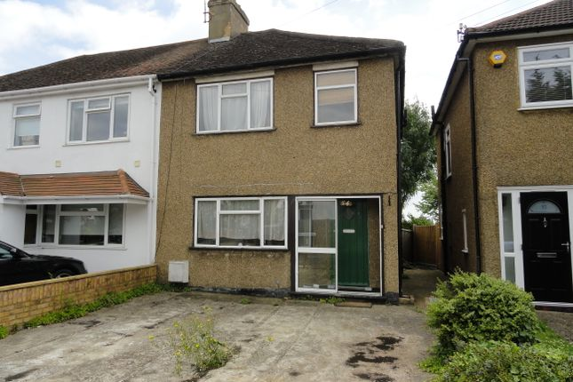 Thumbnail Semi-detached house for sale in Downing Drive, Greenford