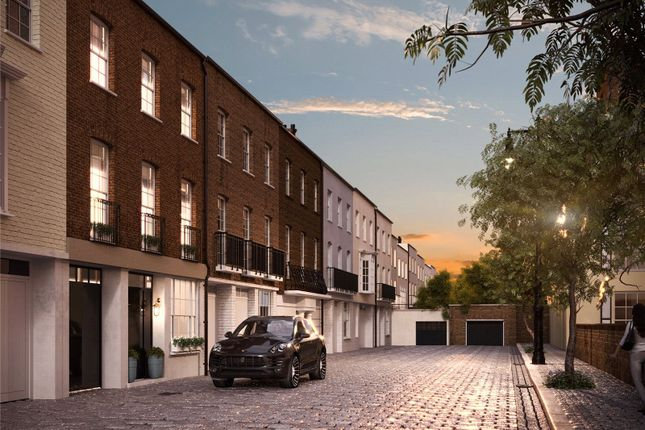Thumbnail Mews house to rent in Boscobel Place, Belgravia